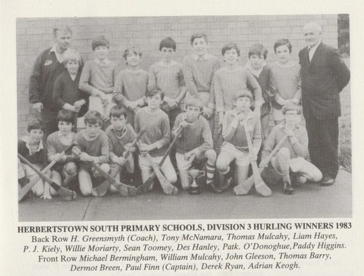 Herbertstown NS Hurling 1983