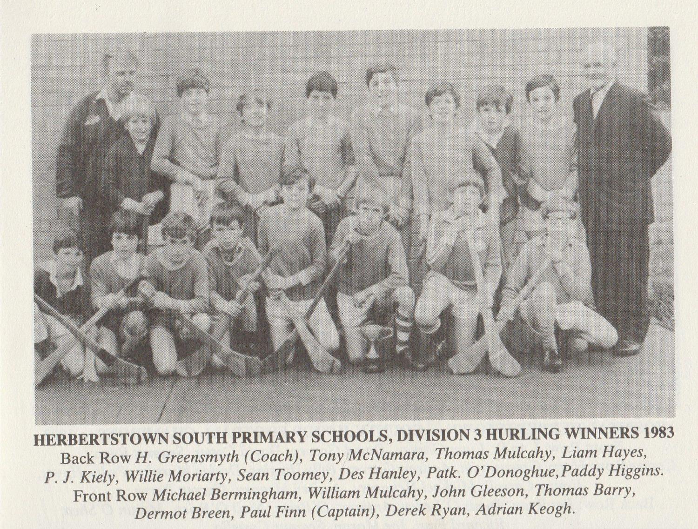 Herbertstown NS Hurling 1983